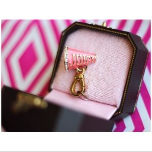 Gold Juicy Couture Megaphone Charm